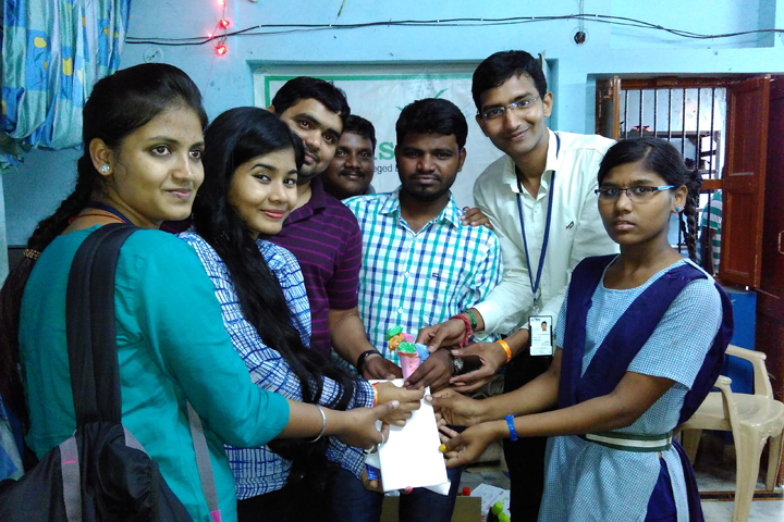Raybiztech contributions towards Hudhud Cyclone