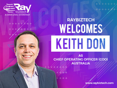 Keith Don appointed as COO for Raybiztech Australia