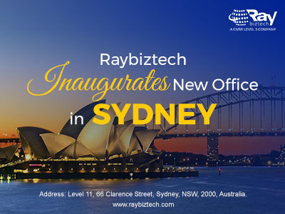 Raybiztech expands in Asia-Pacific with Sydney office
