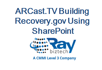 ARCast.TV Building Recovery.gov Using SharePoint