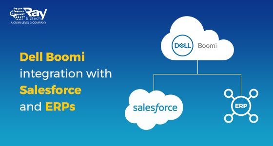 Dell Boomi integration with Salesforce and ERPs