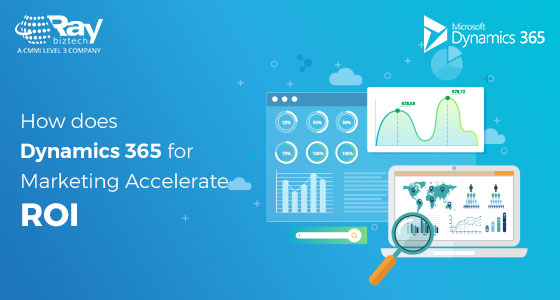 How does Dynamics 365 for Marketing accelerate ROI?
