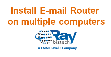 Install E-mail Router on multiple computers