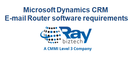 Microsoft Dynamics CRM E-mail Router software requirements