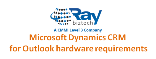 Microsoft Dynamics CRM for Outlook hardware requirements