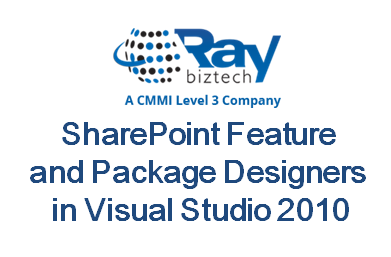 SharePoint Feature and Package Designers in Visual Studio 2010
