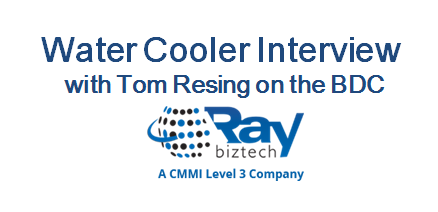 Water Cooler Interview with Tom Resing on the BDC