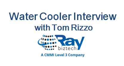 Water Cooler Interview with Tom Rizzo