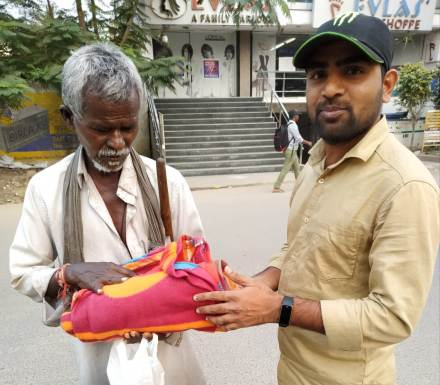 Blankets distribution CSR
